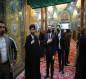"""بالصور.. القائم بالاعمال في سفارة اذربيجان يزور مرقد الامام الحسين (ع) وقبر """"فضولي البغدادي"""""""