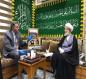 بعثة الامم المتحدة تنشر صور لقاء ممثل منظمة الصحة العالمية (WHO) في العراق مع ممثل المرجع السيستاني