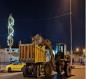 أمانة بغداد :حملة ليلية لإزالة التجاوزات عن 4 شوارع في العاصمة(صور)