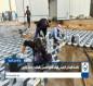 فيديو:اكساء المدخل الرئيسي لمرقد الامام الحسين بالمقرنص مع توسعته
