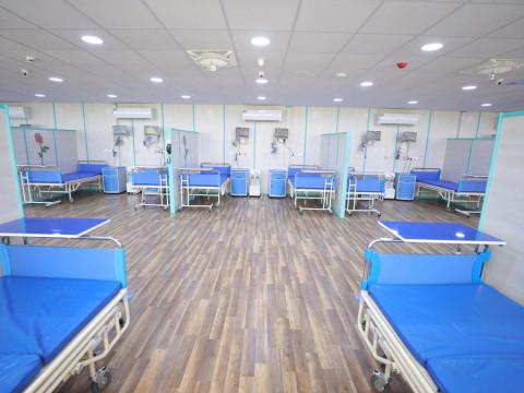 """بسعة 150 سريراً .. العتبة الحسينية تواصل العمل بانشاء """"مستشفى الشفاء"""" في الشعلة شمالي بغداد"""