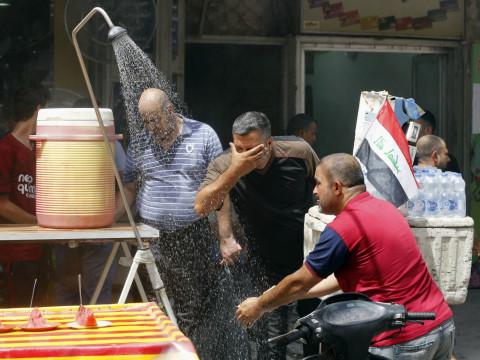 درجات الحرارة ترتفع مجدداً في العراق