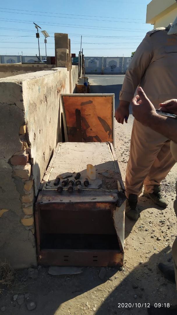 بعد تفجير محل بيع العرق وقبر ابو مهدي المهندس الان تفجير سبع البور