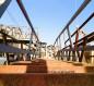 العتبة الحسينية تقوم بنصب مجسرات لتقليل الزخم البشري خلال زيارة الاربعين (فيديو)