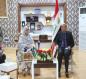 بالصور.. محافظ كربلاء يستقبل وزيرة الانتاج الحربي الباكستاني