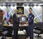 العراق:قائد القوة الجوية يستقبل الملحق العسكري الإيراني