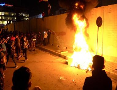 مجدداً.. الحكومة العراقيّة: تحقيقاتنا مستمرة للكشفِ عن هُويةِ المعتدين على القنصلية الايرانية بكربلاء