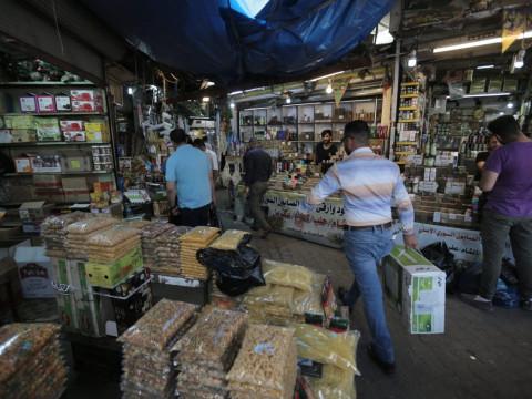 ارتفاع معدل التضخم خلال شهر نيسان الماضي في العراق